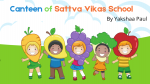 Canteen of Sattva Vikas School